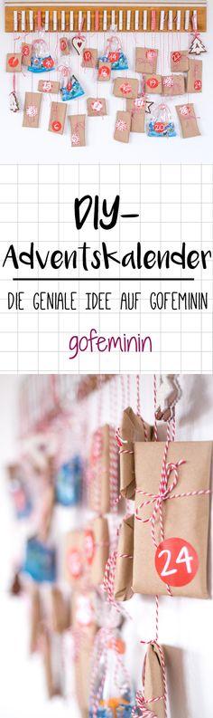 Facebook Twitter DIY-Adventskalender basteln: So einfach machst du anderen eine Freude!