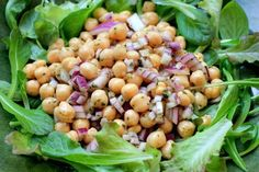 Chickpea Salad with Cumin and Lime