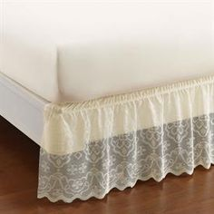 Lace Wrap-Around Bedskirt & Shams | Bedding Accessories | Brylanehome