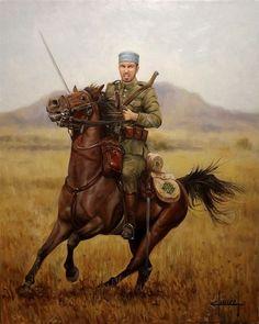 Regimiento Alcantara.-Morir en África