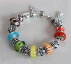 Colorful Pandora Bracelet