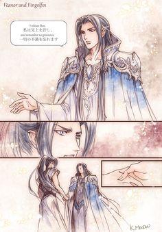 Fëanor and Fingolfin