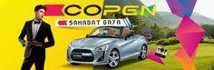 <p>Harga Kredit Mobil Daihatsu Copen Terbaru TYPE ON THE ROAD COPEN MT 427.250.000</p>