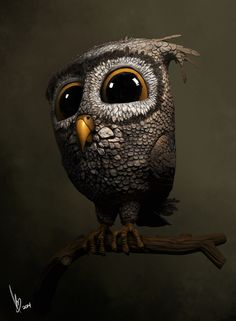 The Owl by Berube Pierre-Luc | Cartoon | 3D | CGSociety