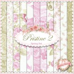 pretty shabby chic fabric