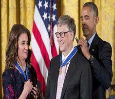 बिल गेट्स और अन्य को 'मेडल ऑफ फ्रीडम' से सम्मानित किया गया - Hindi Gaurav