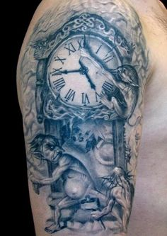 I can't get past clock tattoos, no matter how cliche they are.