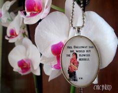 #pendant #cameo #incipit #mrsdalloway #virginiawoolf #literaryquotes #englishliterature