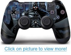 Batman - The Dark Knight - Sony PlayStation 4 / PS4 DualShock4 Controller - Skinit Skin