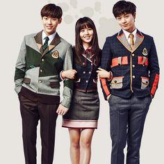 150713 Kim Sohyun, Sungjae and Minhyuk for Elite Uniform #kimsohyun #yooksungjae #sungjae #btob Im Hyunsik, Lee Changsub, Yook Sungjae, Btob, Minhyuk, Yongin, Who Are You School 2015, Oh My Venus, Kim Sohyun