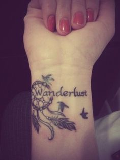 Just not the word wanderlust
