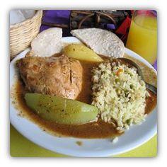 Pepian is national food (dish) of Guatemala