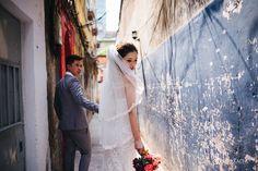 Chụp ảnh cưới tại Sài Gòn náo nhiệt