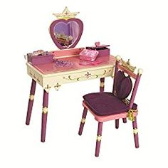 10 Best Little Girls Vanity Table Set Price and Review Girls Princess Bedroom, Princess Room, Royal Princess, Princess Chair, Girls Bedroom, 4 Year Old Girl Bedroom, Princess Girl, Princess Party, Disney Princess