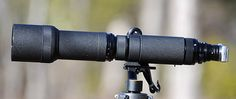 Nikkor-P 800mm f/8 on a Sony NEX5 Using AU-1  A rare Nikon 1200mm f/11 lens recently appeared on eBay. The earliest Nikon non-refractive long lenses were the Nikkor-Q 400mm f/4.5, Nikkor-P 600mm f/5.6, Nikkor-P 800mm f/8, and Nikkor-P 1200mm f/11. All of them were on the market around 1964 and withdrawn in the mid-1970. These lenses are actually lens heads and require a focus unit to be functional.