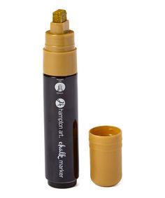 Loving this Gold Chalk Marker on #zulily! #zulilyfinds
