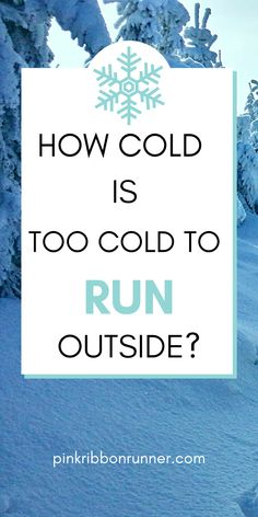 Running outdoors in winter can be a great workout. But how cold is too cold to run outdoors? You might be surprised that you can run in cold weather if you wear the right run clothes and gear. Download the free printable guide on what to wear running to make it easy. Stay fit and healthy all winter long. Running In Snow, Running In Cold Weather, Winter Running, Running Half Marathons, Marathon Running, Running Workouts, Running Tips, Indoor Track