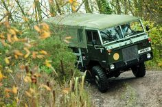 Command car of the 1119th Quartermaster Company, RAF Grafton Underwood - UK
