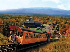 White Mountain National Forest : Mount Washington Cog Railway
