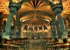 Cripta Güell 1908 - 1914 #Gaudi #Catalunya