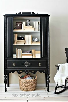 Best Black Paint For Furniture - Salvaged Inspirations