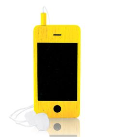 Take a look at this Yellow Wooden Play Phone on zulily today!