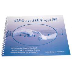 Auslan resources Australian Sign Language, Classroom Organisation, Book Signing, School Resources, School Classroom, Nursery Rhymes, Early Childhood, Teaching Ideas, Literacy