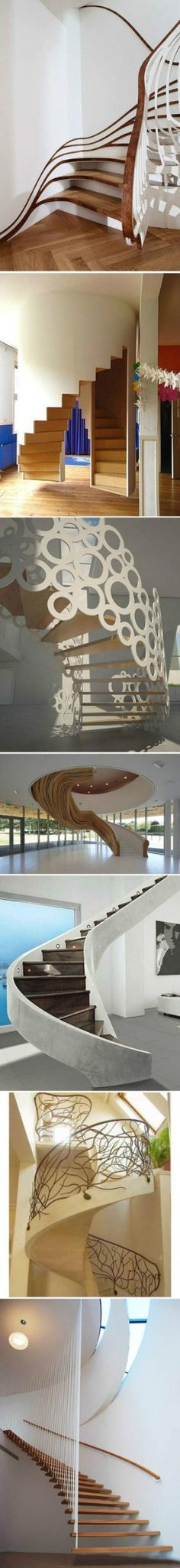 Which kind of spiral stairs do you like