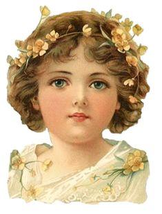 tubes enfants - vintage Clip Art Vintage, Vintage Fur, Vintage Paper Dolls, Vintage Ephemera, Vintage Girls, Vintage Children, Vintage Prints, Vintage Shoes, Victorian Dolls