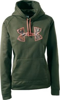 Under Armour® Women's Tackle Twill Hoodie I've been looking at this sweatshirt every time we go to Gander Mountain. I will get it for Christmas, or it will eventually go on sale... love it