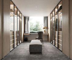 Minimalist Home Interior .Minimalist Home Interior Walk In Closet Design, Bedroom Closet Design, Wardrobe Design, Closet Designs, Bedroom Decor, Casa Kardashian, Wardrobe Room, Luxury Closet, Luxury Wardrobe
