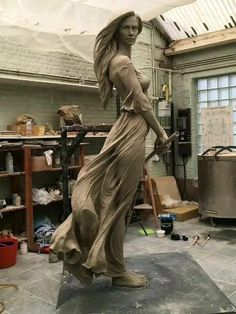 Love Bound Oxygen Sculpture Clay, Bronze Sculpture, Art Sculptures, Statue Ange, Sculpture Romaine, Art And Architecture, Oeuvre D'art, Home Art, Statues