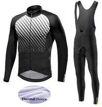Click Image to Buy  2018 Men Mavic Cycling Jerseys Cycling Set Winter  Thermal Fleece Long Sleeve Racing MTB Suit Maillot Bike Clothing Ropa  Ciclismo ... 95fa082fe