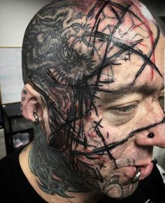 Worst Face Tattoos: The Most Regrettable Face Tattoos of All Time Side Hip Tattoos, Full Arm Tattoos, Small Forearm Tattoos, Small Girl Tattoos, Bad Face Tattoos, Body Art Tattoos, Cool Tattoos, Guy Tattoos, Facial Tattoos