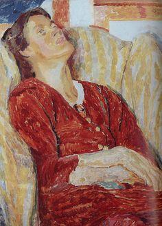 Duncan Grant  Portrait of Vanessa Bell in an Armchair, 1915