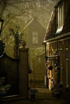 Dusk, Loenen, the Netherlands.