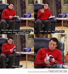 Good job, Joey…