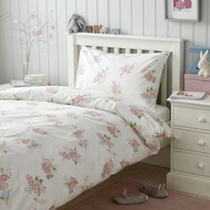 Buy Isabella Floral Easy-Care Bed Linen - from The White Company