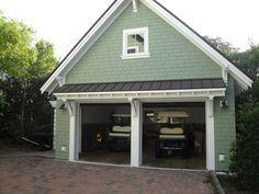 44 Best Small Cottage House Exterior 16 with Garage - July 28 2019 at Garage House, Garage Roof, Two Car Garage, Garage Plans, Garage Ideas, Garage Pergola, Door Ideas, Garage Closet, Garage Bedroom