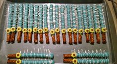 Sunflower/ frozen fever pretzel sticks