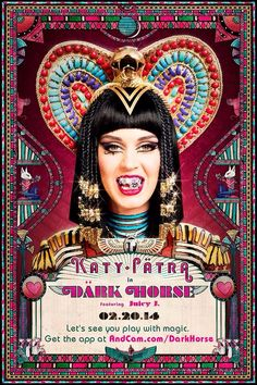 Katy Perry Dark Horse music video out NOW WATCCH WATCH WATCH