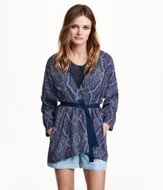 H&M Gemusterter Kimono 39,99
