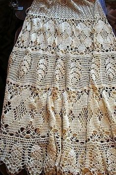 crochet skirt ..for ideas only