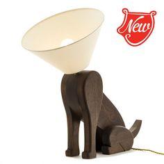 SITTING DOG LAMP