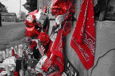 ITAP of a Blood Gang Homicide Memorial http://ift.tt/2dVeShj