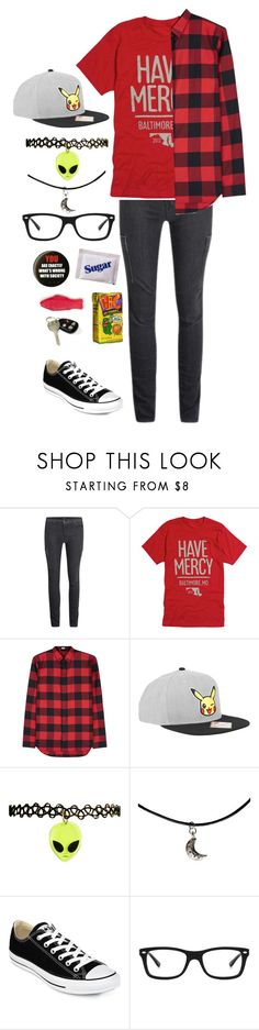 """""""show tonight :)"""" by emorecyclable ❤ liked on Polyvore featuring J Brand, Christian Dior, Nintendo, Converse and Ray-Ban"""