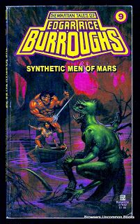 Synthetic Men of Mars by Edgar Rice Burroughs. sold