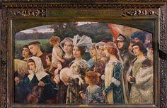 Il voto - Cesare Saccaggi  #painting #tortona