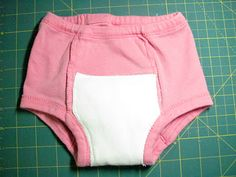 It's a Long Story: DIY cloth training pants! Training Pants Pattern, Cloth Training Pants, Toddler Training Pants, Potty Training Pants, Baby Clothes Patterns, Clothing Patterns, Sewing For Kids, Baby Sewing, Sewing Clothes