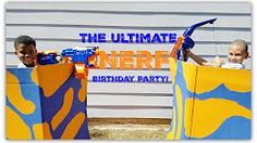 The Ultimate Nerf Boys Birthday Party Idea!